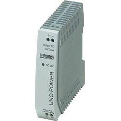 Zasilacz na szynę DIN Phoenix Contact UNO-PS/1AC/15DC/30W 15 V/DC 2 A 30 W 1 x