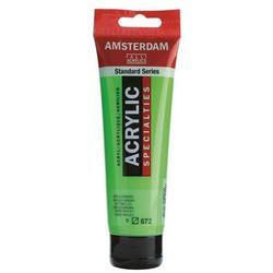 Farba akryl AMSTERDAM 120ml. - reflex green 672