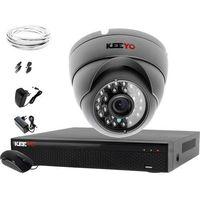 Zestawy monitoringowe, System monitoringu 4W1 Kamera 720P IR25 LV-AL25MD Rejestrator 4 kanałowy LV-XVR44N P2P
