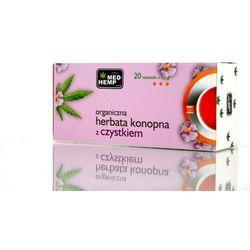 Herbata konopna z czystkiem w saszetkach 26G