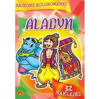 Kolorowanki, Bajkowe kolorowanki Aladyn - Praca zbiorowa - Zostań stałym klientem i kupuj jeszcze taniej