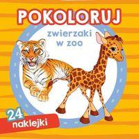 Książki dla dzieci, Pokoloruj zwierzaki w zoo