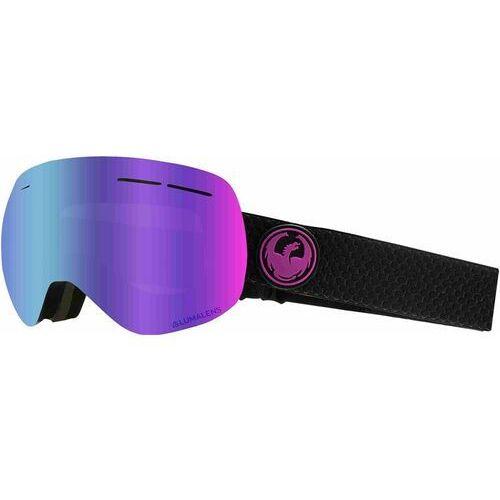 Kaski i gogle, gogle snowboardowe DRAGON - Dr X1S 3 Split Llpurpleion+Llamber (003) rozmiar: OS