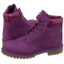 Trapery Timberland 6 In Premium WP Boot Grape Juice A1VAZ (TI53-k)