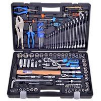 """Zestawy narzędzi ręcznych, Zestaw narzędzi PROFI GOLA w walizce z kluczami 1/4 """", 3/8"""" i 1/2"""""""