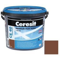Fuga cementowa WODOODPORNA CE40 brązowy 5 kg CERESIT