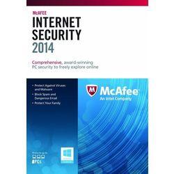 McAfee Internet Security 2015 1 PC licencja na rok
