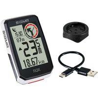 Liczniki rowerowe, SIGMA SPORT ROX 2.0 Bike Computer incl. GPS Mount, biały 2021 Urządzenia GPS