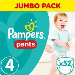 PIELUCHY PAMPERS PANTS A52 MAXI 4 8-14*
