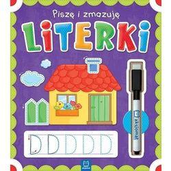 Piszę i zmazuję Literki - opracowanie zbiorowe - książka (opr. broszurowa)