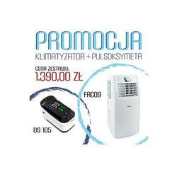 Klimatyzator przenośny Fral FAC 09 Super Cool + gratisowy pulsoksymetr DS-105 - wydajność ok.25 -30 m2 - PROMOCJA