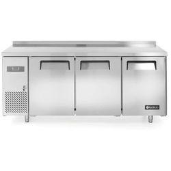 Stół mroźniczy Kitchen Line 3-drzwiowy z agregatem bocznym HENDI 233399