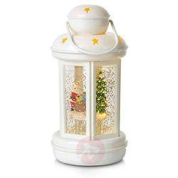 Błyszcząca latarnia dekoracyjna Cosy LED biała