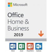 Programy biurowe, Microsoft Office Home & Business 2019 ESD PL WIN/MAC, Nowa licencja REDENCJA