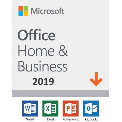 Programy biurowe i narzędziowe, Microsoft Office Home & Business 2019 ESD PL WIN/MAC, Nowa licencja REDENCJA
