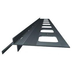 SOPRO OB 265/40- okapnik balkonowo- tarasowy, grafitowy, 200 cm