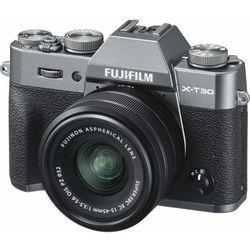 FujiFilm aparat fotograficzny X-T30 + XC 15-45 mm Grey