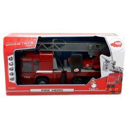 Dickie Straż pożarna wóz strażacki 43cm ze światłem i dźwiękiem polska wersja