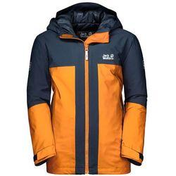Chłopięca kurtka narciarska POWDER MOUNTAIN JACKET BOYS rusty orange - 104