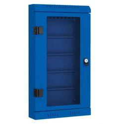 Szafka na klucze, 50x, niebieska