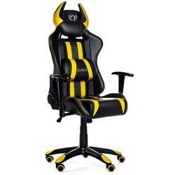 Fotel DIABLO CHAIRS X-One Horn Czarno-żółty