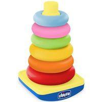 Pozostałe zabawki dla najmłodszych, CHICCO Pastelowa wieża