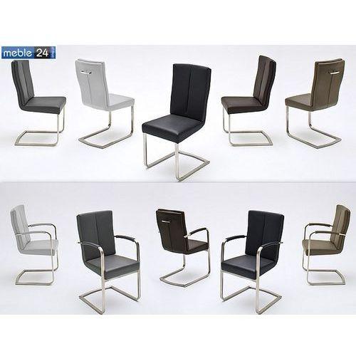 Krzesła, Krzesła do jadalni nowoczesne ULA Ekoskóra
