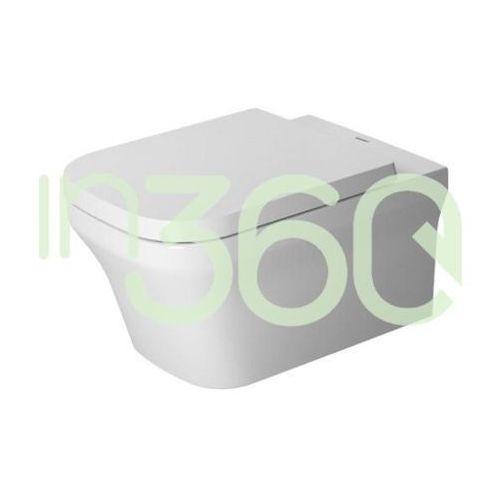 Duravit P3 Comforts Miska WC wisząca 38x57 Biała 2561090000