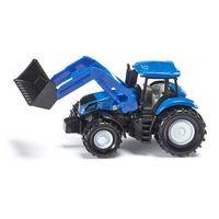 Traktory dla dzieci, Siku, traktor New Holland z przednią ładowarką - Trefl