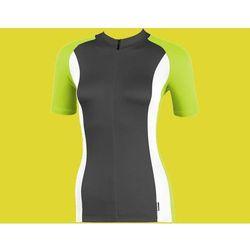 WYPRZEDAŻ Koszulka damska ACCENT ARETE czarno-biało-zielona M