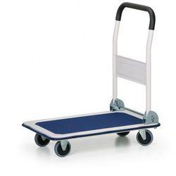 Składany wózek platformowy, 150 kg, platforma 730x470 mm