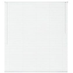 vidaXL Żaluzja plastikowa PVC, biała 140x220 cm Darmowa wysyłka i zwroty