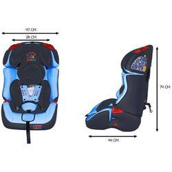 Fotelik Samochodowy KinderSafe DeLuxe ISOFIX 9-36 KG GE-S Fotelik GE-S (-15%)