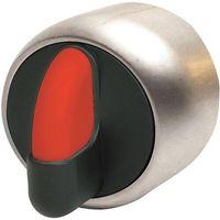 Pozostały sprzęt przemysłowy, niklowany 3 pozycyjny powrotny (obustronnie powrotny, 45 stopni) 1 - 0 - 2 czerwony PSMB1T3NL