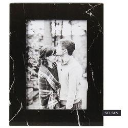 SELSEY Ramka na zdjęcia Rosela 14x19 cm drewniana czarna