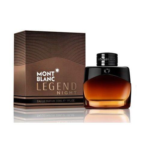 Wody perfumowane męskie, Montblanc Legend Night woda perfumowana 30 ml dla mężczyzn