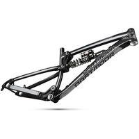 Ramy do rowerów, Rama Dartmoor Roots, z damperem sprężynowym RS Kage RC 222x69, black angel, S dartmoor (-10%)
