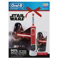 Szczoteczki do zębów, Oral-B elektryczna szczoteczka do zębów Vitality Star Wars + kubek