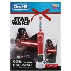 Oral-B elektryczna szczoteczka do zębów Vitality Star Wars + kubek