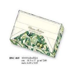 Papeteria box 10 karnetów i 10 kopert BSC 465 - ROSSI