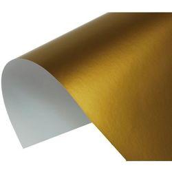 Papier kolorowy złoty origami 100 ark 80g A4