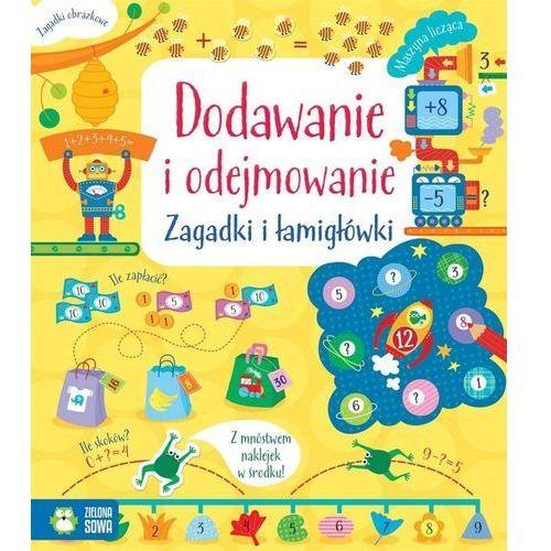 Książki dla dzieci, Dodawanie i odejmowanie, Zagadki i łamigłówki - Opracowanie zbiorowe (opr. miękka)