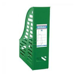 Pojemnik na dokumenty (czasopisma) Donau A4 zielony składany ażur (7464001PL-06)