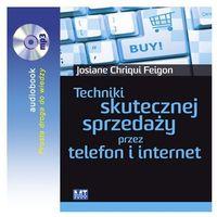 Audiobooki, Techniki skutecznej sprzedaży przez telefon i internet - Josiane Chriqui Feigon