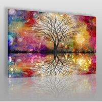 Obrazy, Leśne przepowiednie - nowoczesny obraz na płótnie