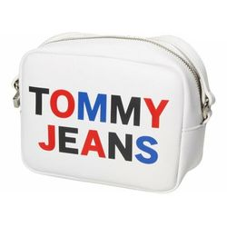 Tommy Hilfiger Jeans TJW Torba z paskiem na ramie 17 cm white ZAPISZ SIĘ DO NASZEGO NEWSLETTERA, A OTRZYMASZ VOUCHER Z 15% ZNIŻKĄ
