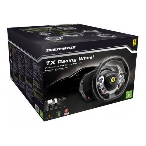 Kierownice do gier, Thrustmaster TX Racing Wheel Ferrari 458 Italia Edition