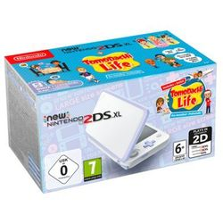 Nintendo New 2DS XL - Lavender White (Tomodachi Life Bundle)