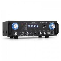 Skytronic 103.208 AV-100 wzmacniacz hi-fi PA karaoke SD USB