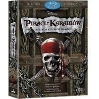 Pakiety filmowe, Piraci z Karaibów 1-4. Pakiet (4Blu-ray) (Płyta BluRay)